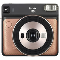Fujifilm Instax Square SQ6 Instant Film Camera,  Blush Gold