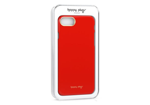 Happy Plugs iPhone 7 Slim Case, Red