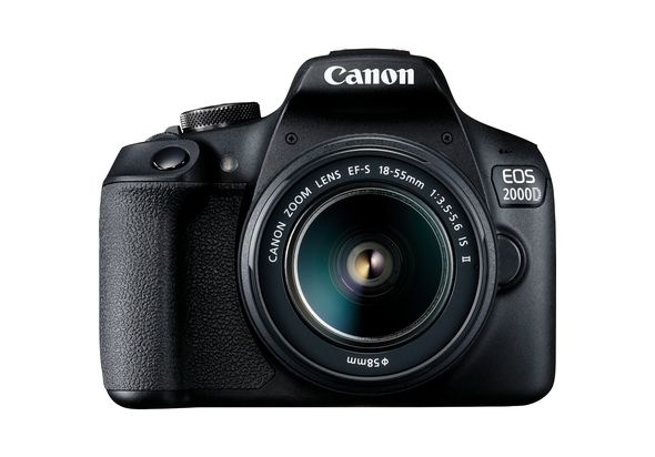 Canon EOS 2000D+ EF-S 18-55mm IS II Lens