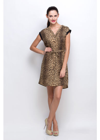 Glamourous Animal Print Dress