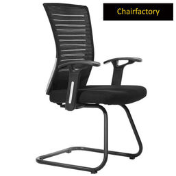 Avesta MB Visitor Chair - Black