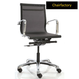 Black Eames Mesh Group Management Chair ZX MB Replica