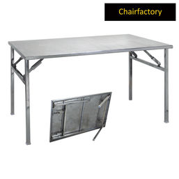 Broadway Banquet Stainless Steel Folding Table
