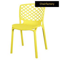 Venecy Robust Café Chair - Yellow