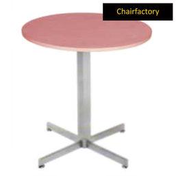 Alpino Breakout Round Table, 3  diameter laminated top
