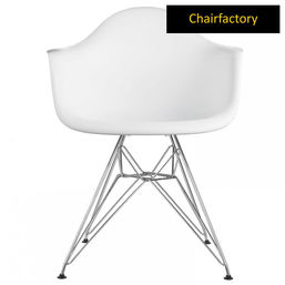 Eames DAR Replica Armchair - White