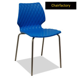 Crystalite Modern Cafe Chair - Blue