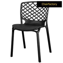 Venecy Robust Café Chair - Black