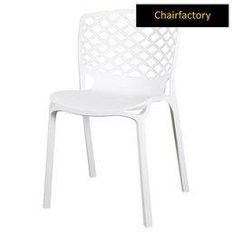 Venecy Robust Café Chair - White