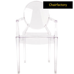 The Louis Ghost Chair Replica, light brown