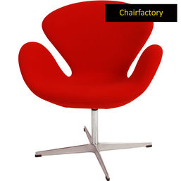 Arne Jacobsen Red Swan Chair Replica