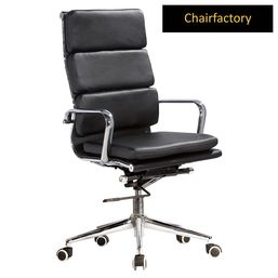 Black Eames Soft Pad Chair HB Replica