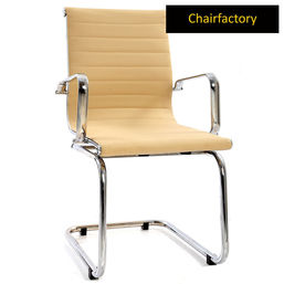 Beige Eames Group Fixed Chair Replica