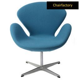 Arne Jacobsen Blue Swan Chair Replica