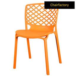 Venecy Robust Café Chair - Orange