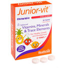 HealthAid Junior-Vit Chewable - Vitamins & Minerals, 30 tab