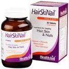 Health Aid - HairSkiNail Vegetarian Tablets, 30
