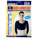 VISSCO - LUMBER SACRO BELT WITH DOUBLE STRAPPING 0101, small