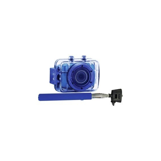 Vivitar Action Camera-781 with Vivitar Bluetooth Speaker,  Blue