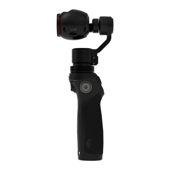 DJI Osmo Handheld 4K Camera and 3-Axis Gimbal, 12,  Black