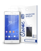 OZONE Crystal Clear HD Screen Protector Scratch Guard for Sony Xperia Z3 (Pack of 2), Clear