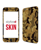 Stylizedd Premium Vinyl Skin Decal Body Wrap for Apple iPhone 6S - Camo Mini Desert