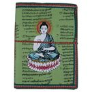 Craftsgallery Handmade Paper Travel Diary With Buddh Print, 4  x 6