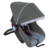 Mee Mee Forward Facing Baby Car Seat Cum Carry Cot with Thick Cushioned Seat & Head,  grey