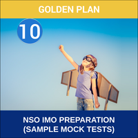 Class 10- NSO IMO Preparation ( Sample Mock Tests), platinum plan