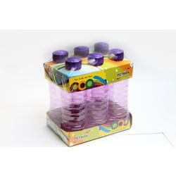 Petman Economy Water Bottle-Set Of 6 (1000Ml Each), violet