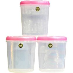 Chetan 3 Pcs Seal Fresh Kitchen Containers-7 Ltrs