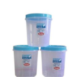 Chetan 3 Pcs Twist Lock Kitchen Containers-7 Ltrs
