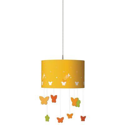 Philips Kidsplace- Suspension Light, 915002110404,  40427 yellow butterflies