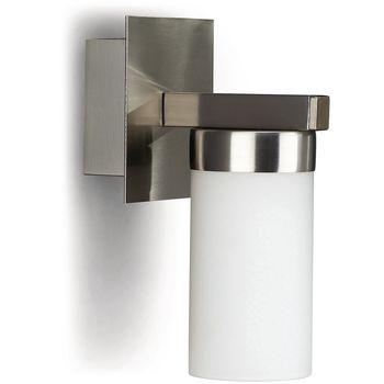 Philips Aquafit Wall light 40 W, Energy saving lamp, nickel 915000113801