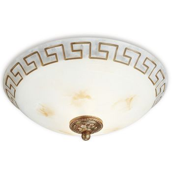 Philips Roomstylers Brown Brushed Ceiling light 60W 915002257101