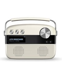 Saregama Caravan Marathi SC03 Portable Digital Music Player (Porcelain White)