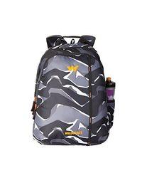 Wildcraft 42 Ltrs Black Casual Backpack (11625-Black), black