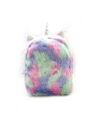 Hamster London Fur Backpack, mix