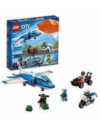 Lego City Sky Police Parachute Arrest Building Blocks, Age 5+