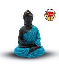 Resin Buddha Blue