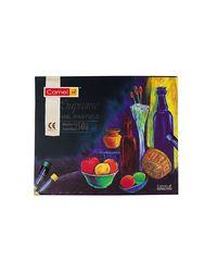 Camlin Kokuyo Supreme Oil Pastel Set - 50 Shades (Multicolor)