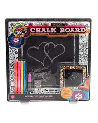 Your Decor Colour Your Own Chalk Board, Multi Color
