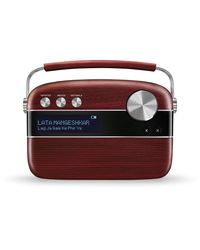 Saregama Carvaan - Portable Digital Music Player (Cherrywood Red)