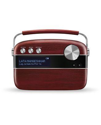 Saregama Carvaan - Portable Digital Music Player (Cherrywood Red)