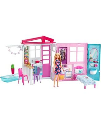 Barbie Doll House With Doll, Age 3+