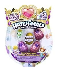 Hatchimals Colleggtibles S6 4 Pack+ Bonus, Age 5+
