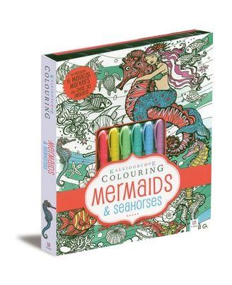 Kaleidoscope Colouring Mermaids & Seahorses, na