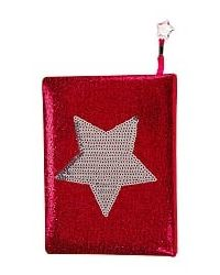 Star Glitter Notebook, mix