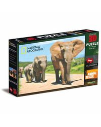 National Geographic Super 3D Puzzle Elephants, na