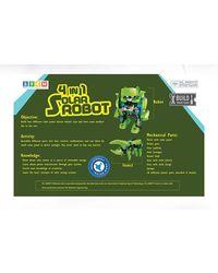 Dr. Mady 4 In 1 Diy Solar Robot, Age 6+
